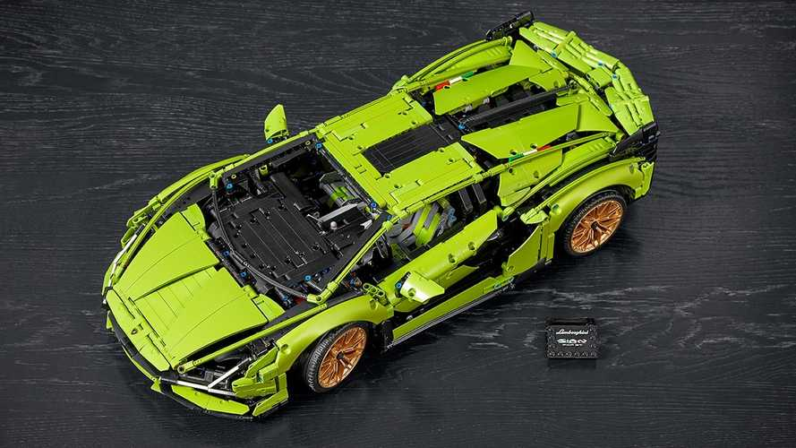Lamborghini Sian FKP 37 Lego Technic revealed with 3,696 pieces