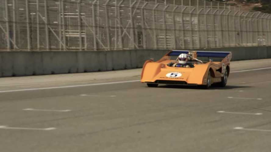 McLaren's iconic Can-Am racers reunite at Laguna Seca