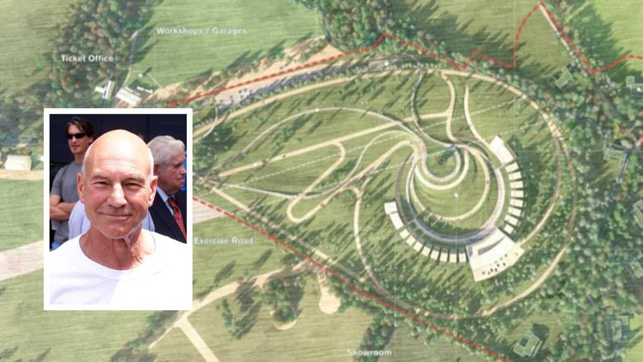 Patrick Stewart objections lead to new plans for auto museum