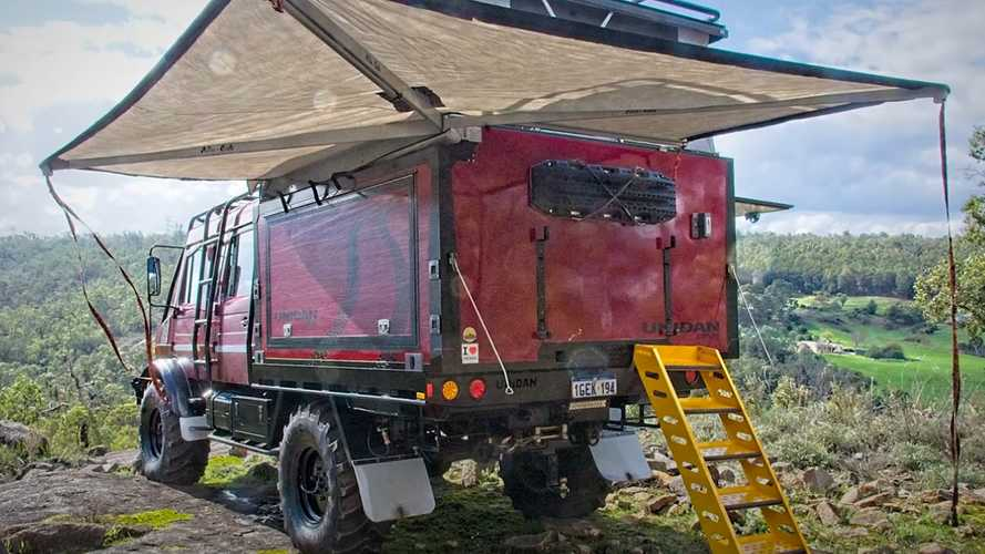 Heavily Modified Unimog Is Ready For Whatever Life Throws At It
