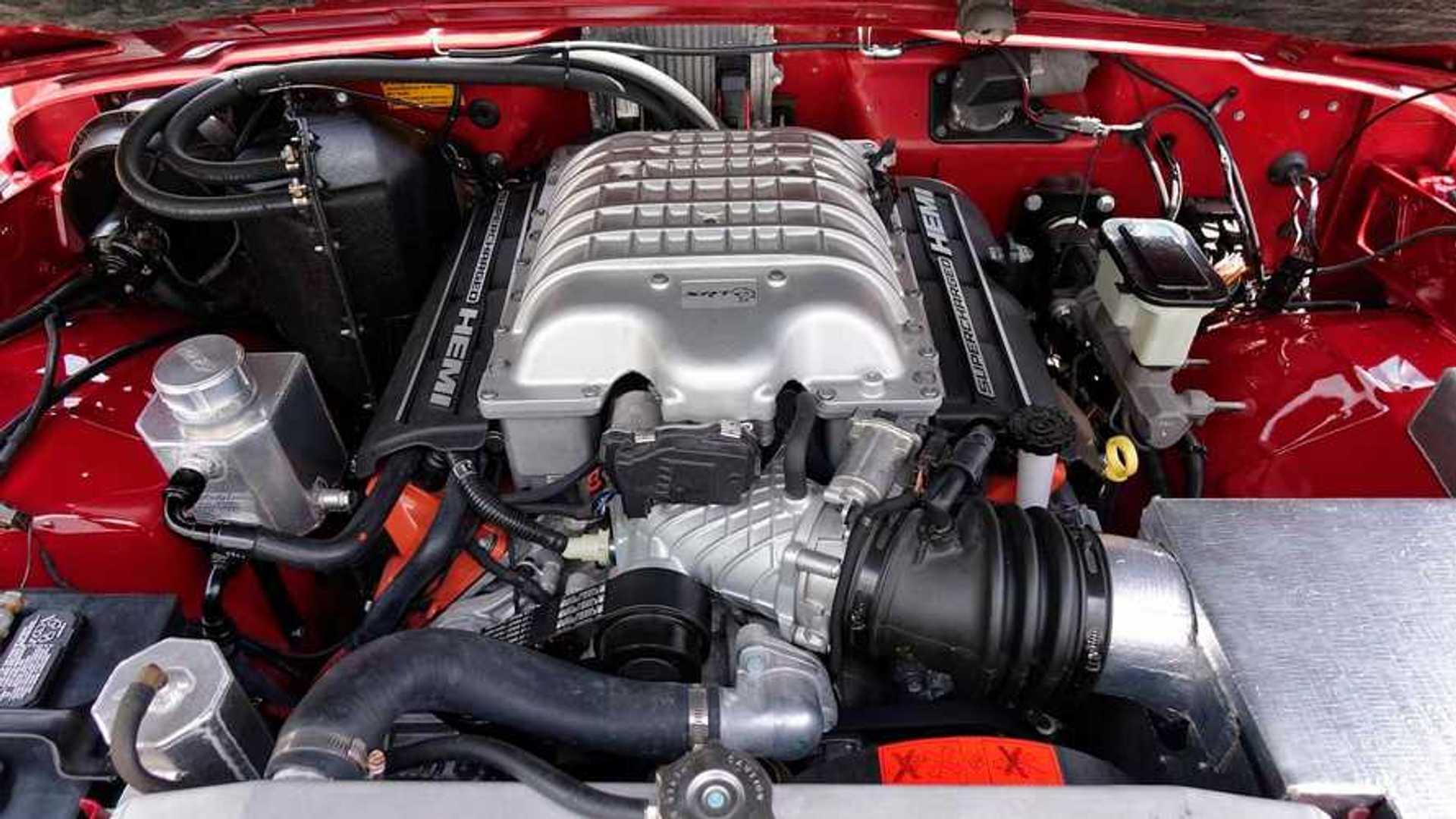 1989 Jeep Grand Wagoneer Hellwagon Engine Autoclassics Com Photos