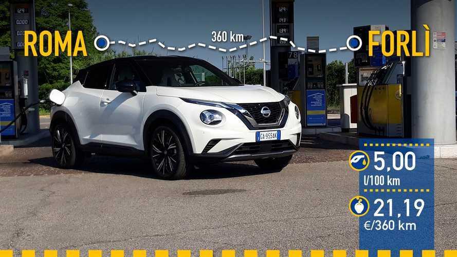 Nissan Juke DIG-T 2020: prueba de consumo real