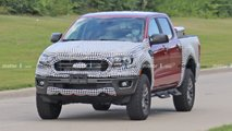 Ford Ranger Tremor Spy Photos