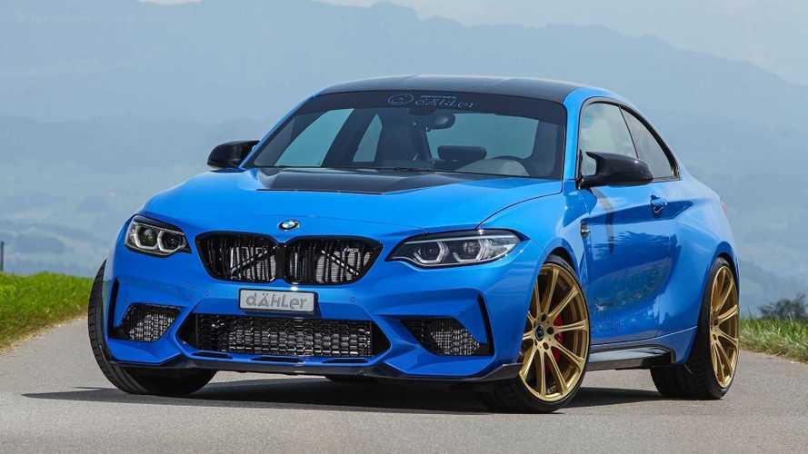 La BMW M2 CS poussée à 550 ch par Dahler !