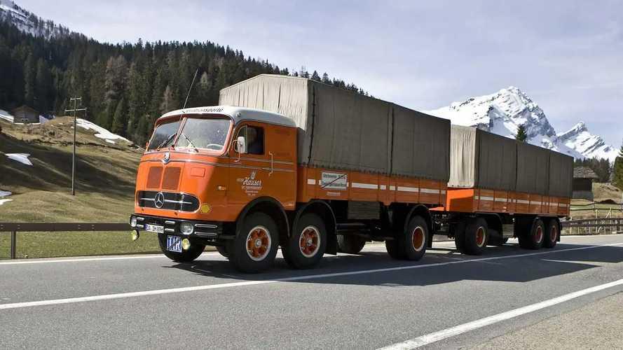 Mercedes-Benz LP 333, il millepiedi