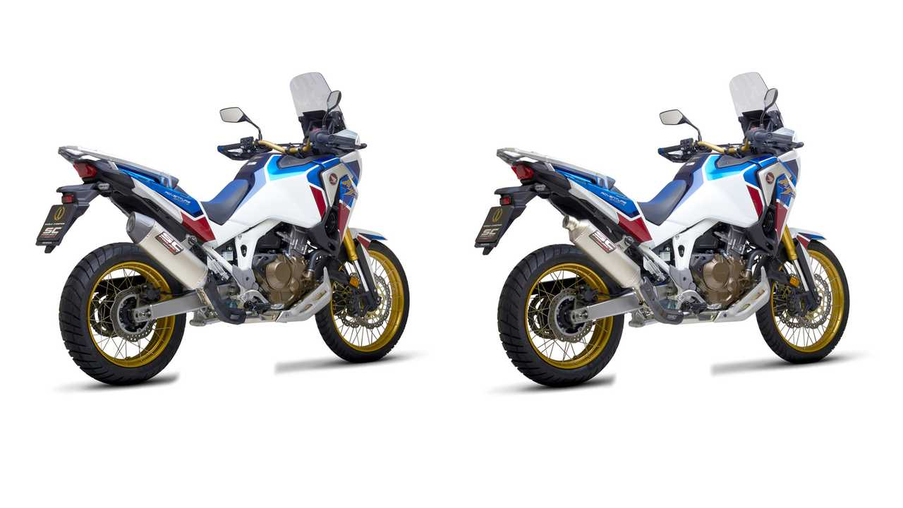 Honda Africa Twin CRF1100L SC Project exhaust