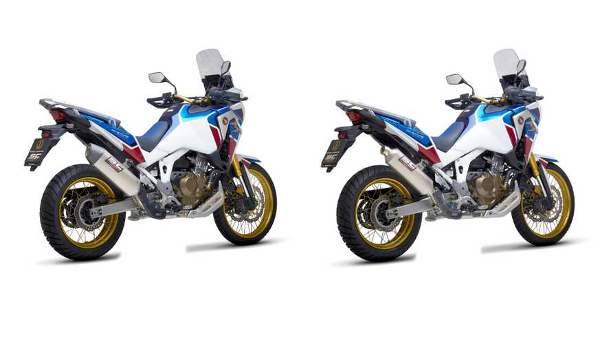 Adding To The Noise: SC-Project Introduces Exhausts For Honda CRF1100L