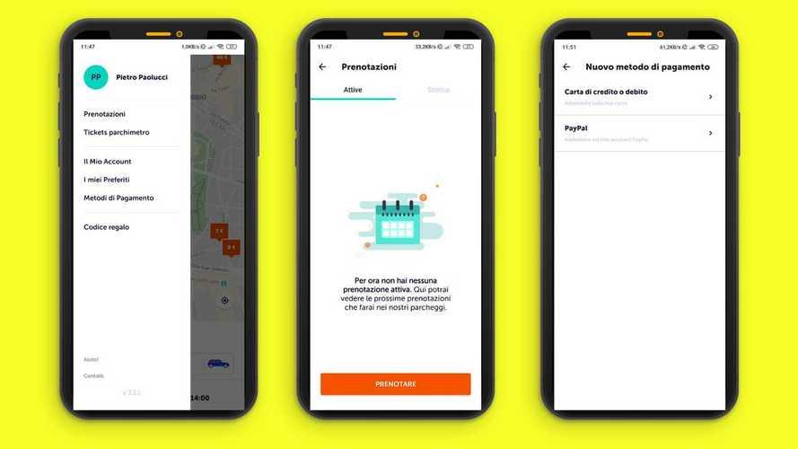 Come cercare e prenotare parcheggi con Parclick