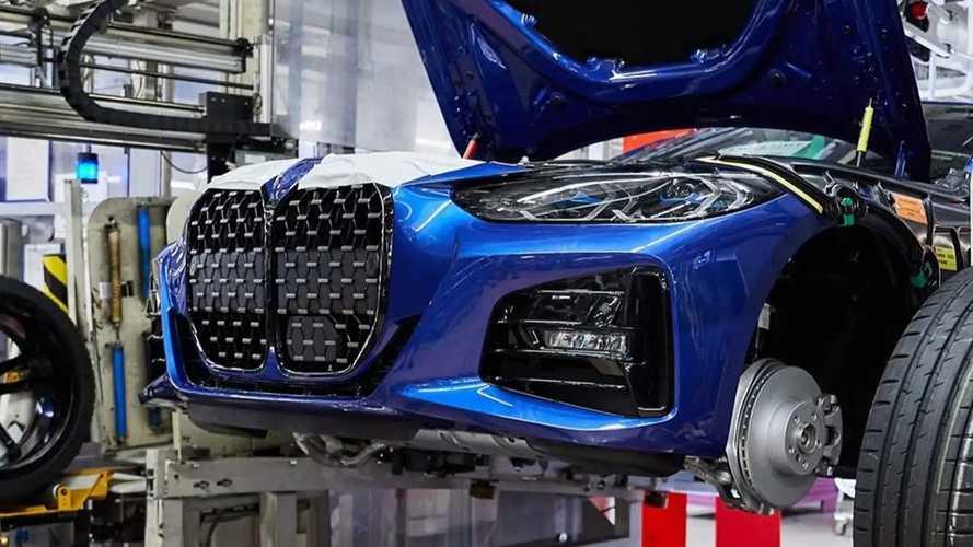 Novos BMW Série 4 e Série 5 2021 - Fábrica