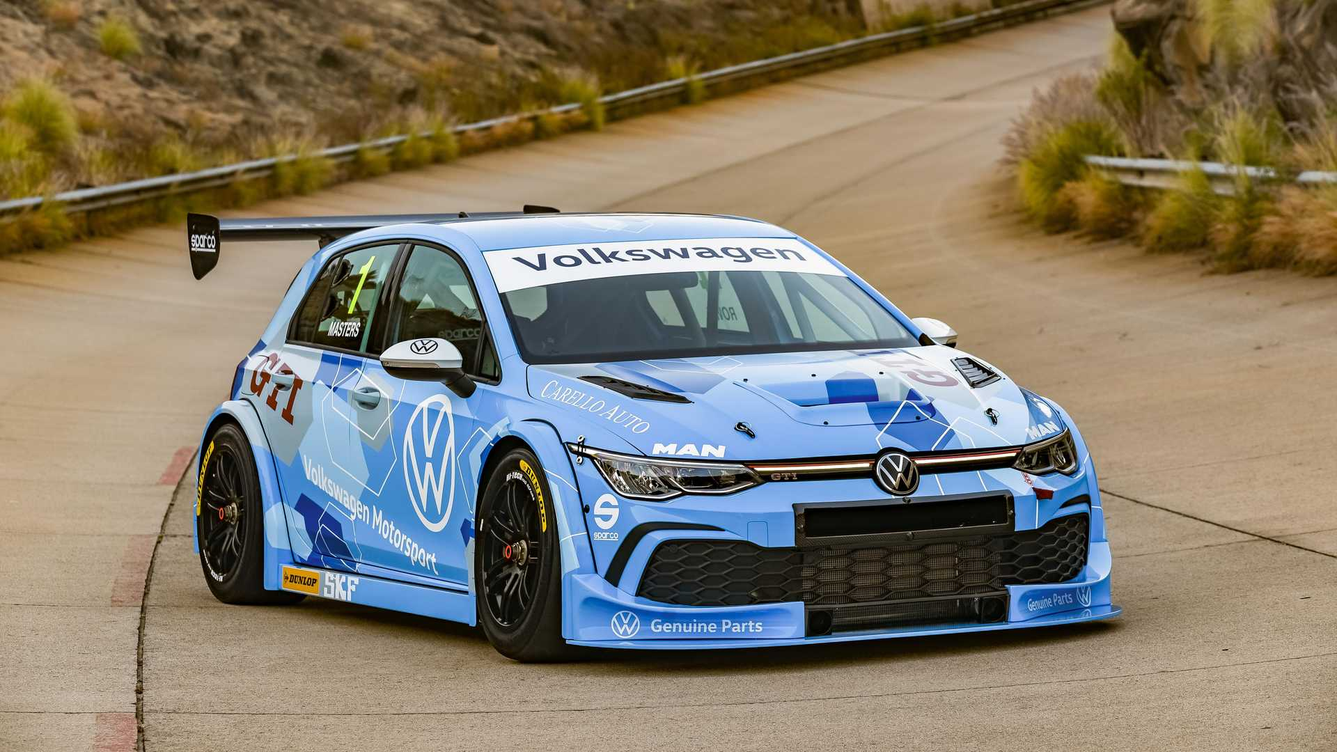 Volkswagen Golf 8 GTI GTC Race Car Debuts For South Africa Series - Motor1