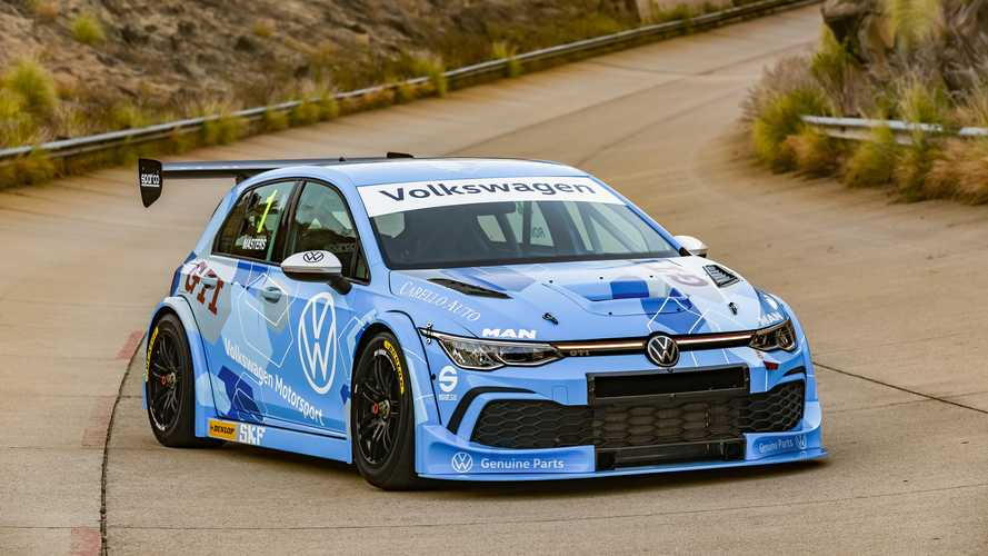 Volkswagen Golf 8 GTI GTC Race Car Debuts For South Africa Series