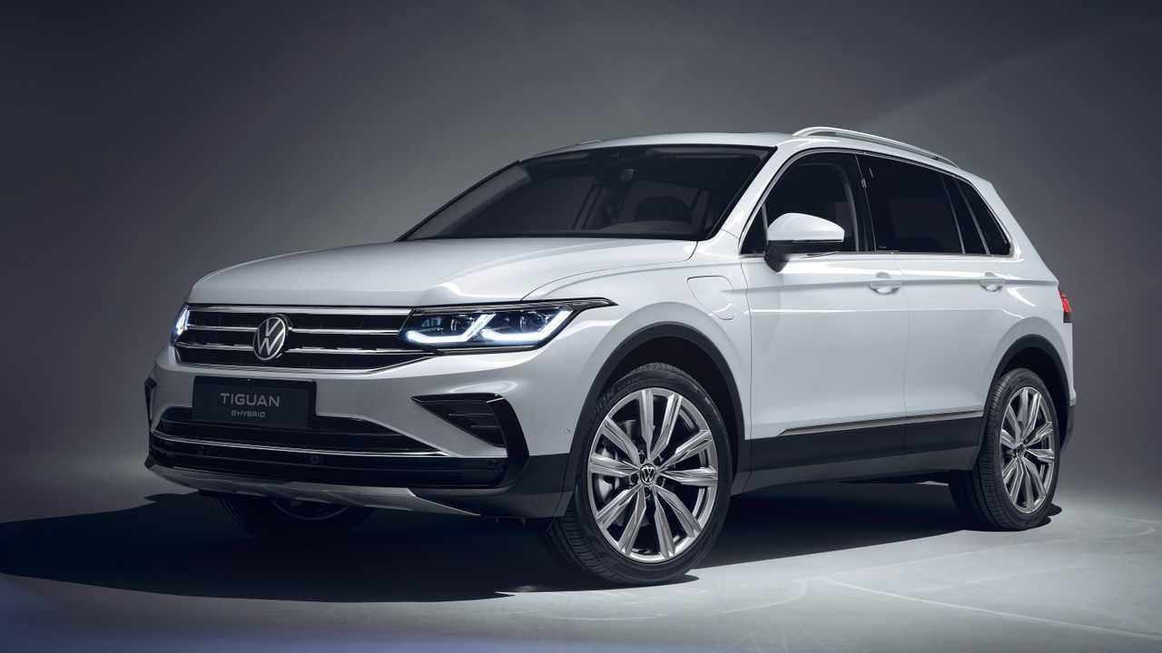 Volkswagen Tiguan restyling (2020)