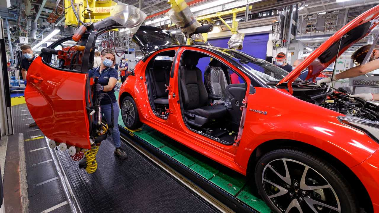Toyota Yaris fabbrica