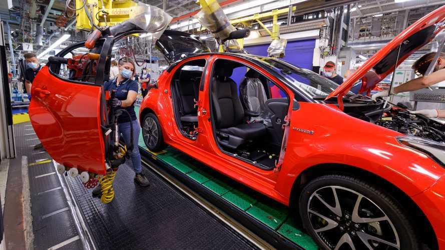 Nuova Toyota Yaris, la piccola ibrida inizia la produzione