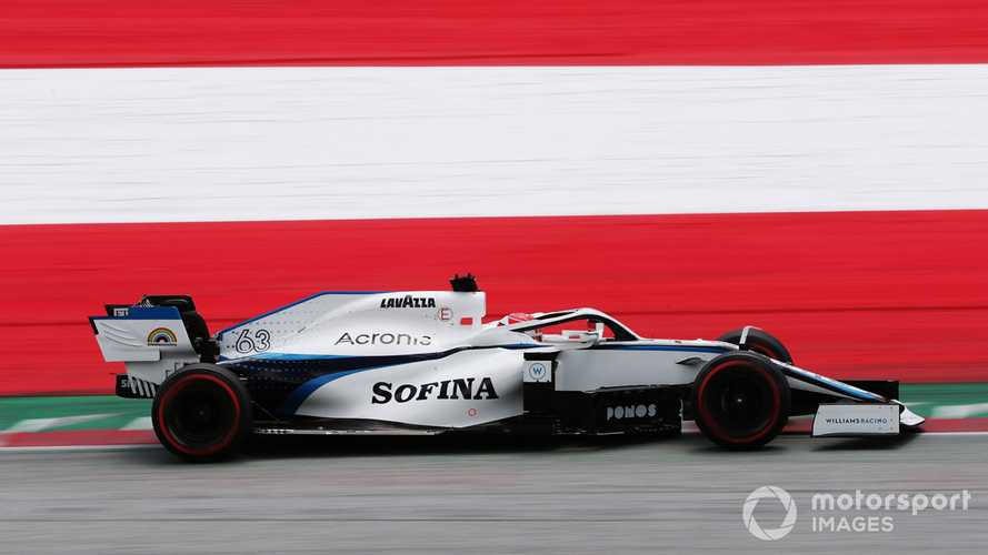 Williams to give Aitken FP1 run at second Austrian F1 event
