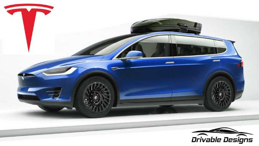 Check Out This Tesla Model XL: It's Extra Big, But Without Wings