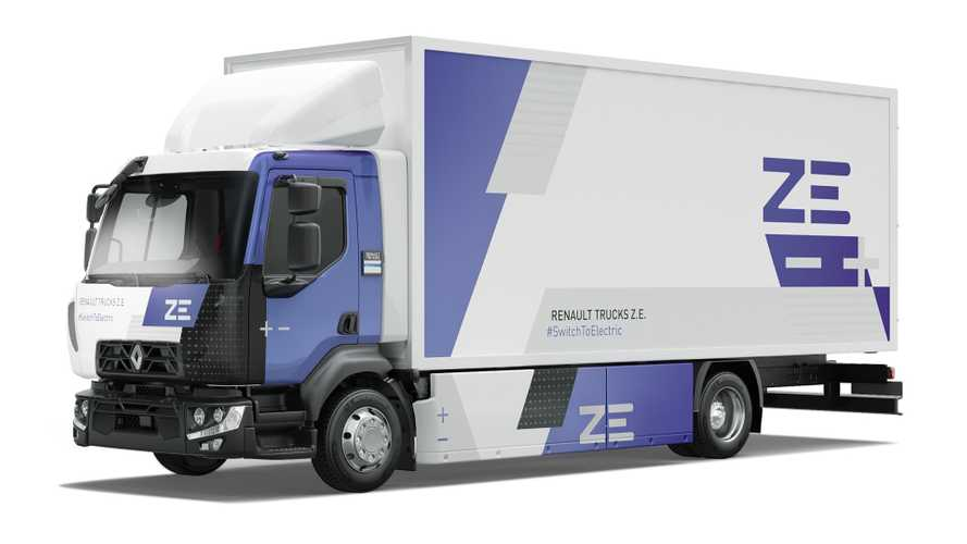 Renault Trucks Delivers Its First Series-Produced D Z.E. Truck