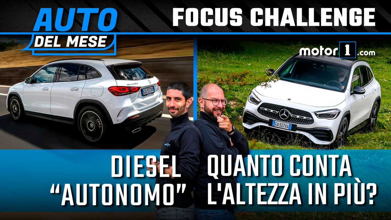 """Mercedes GLA, abbiamo """"sconfinato"""" col diesel 4Matic"""