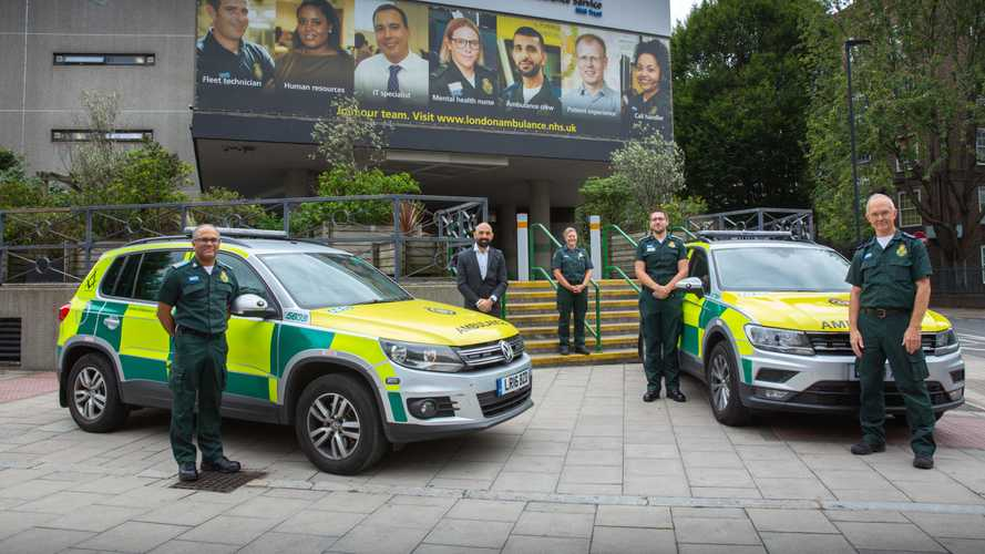 VW Tiguans upgraded for London Ambulance Service