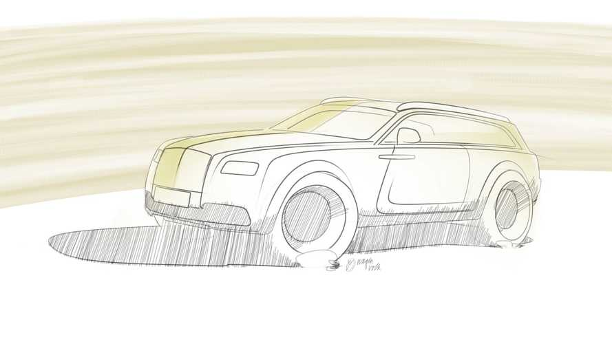 Rolls-Royce Wraith Shooting Brake Renderings