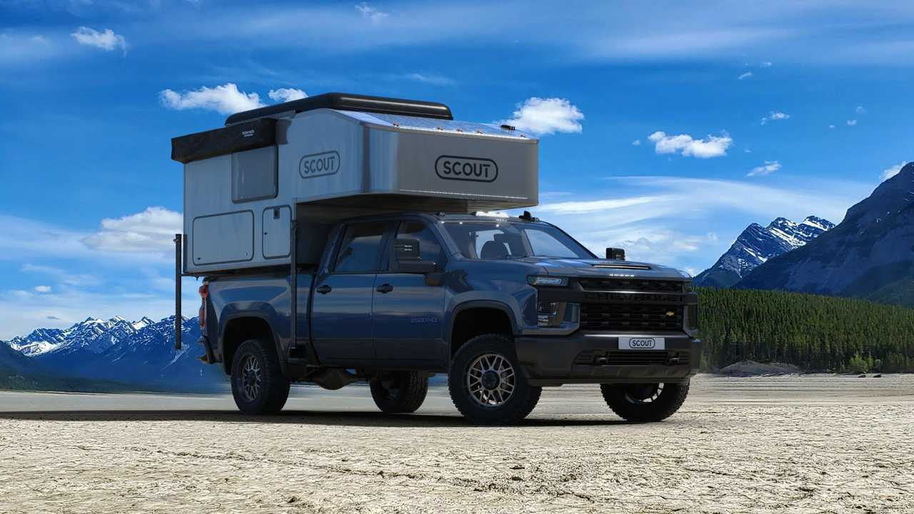 Scout Campers Kenai Truck Topper Exterior On Truck