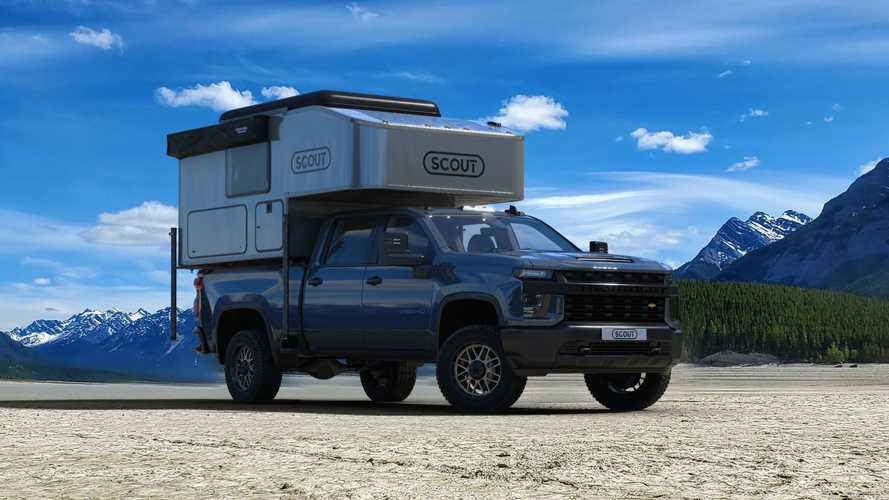 Scout Campers Kenai Topper 3/4 exterior