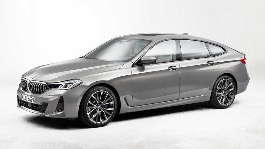 BMW Serie 6 Gran Turismo, il restyling della coupé 4 porte