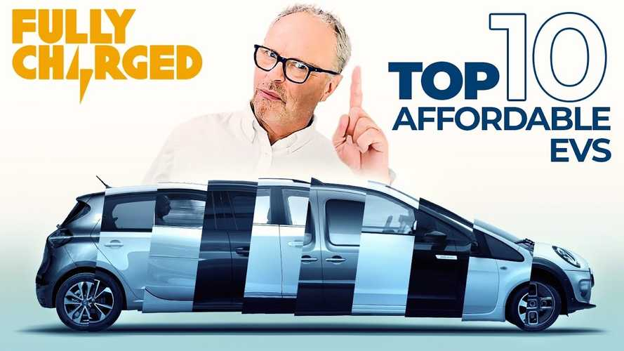 Top 10 Affordable Electric Cars In 2020 By Fully Charged: Video