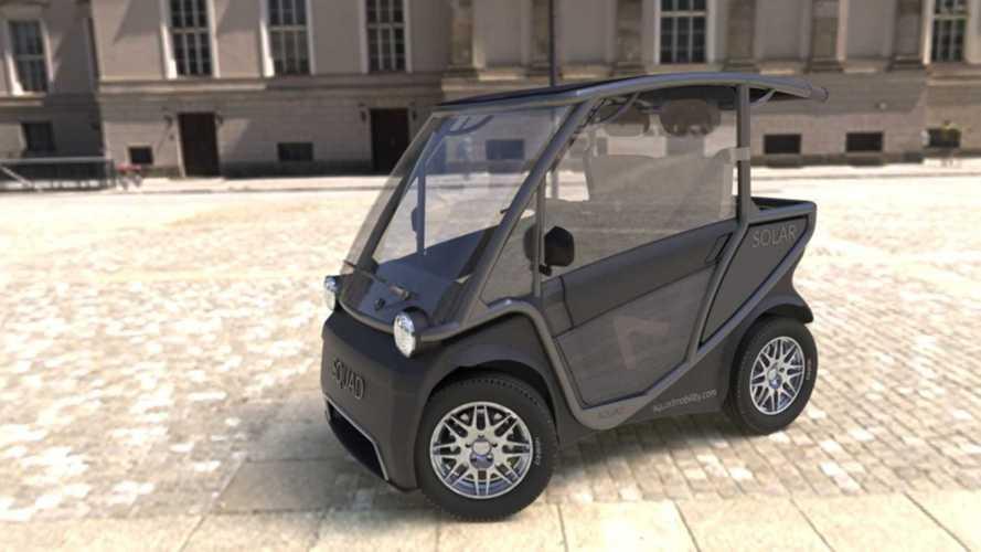 Squad: Kleines Elektroauto mit Solardach für 6.800 Euro