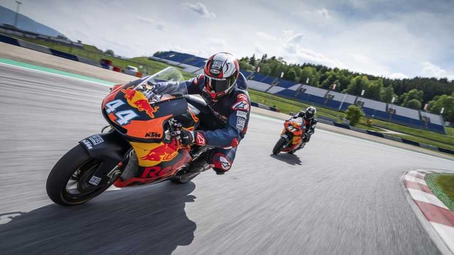 Ride A Red Bull KTM Moto2 Bike At The Austrian GP Circuit