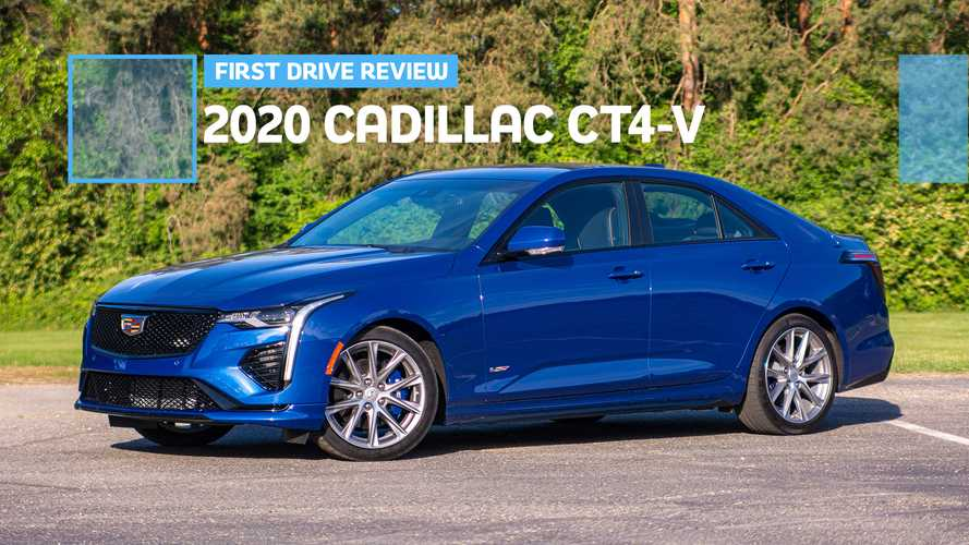 2020 Cadillac CT4-V First Drive Review: Please, Go Back To Your Roots