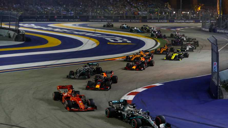 Azerbaijan, Singapore, and Japan F1 rounds cancelled for 2020