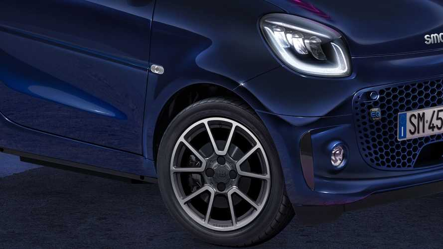 smart EQ fortwo parisblue e suitegrey, edizioni speciali full optional