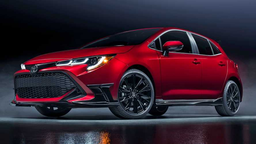 2021 Toyota Corolla Hatchback Special Edition Debuts With Hot Looks