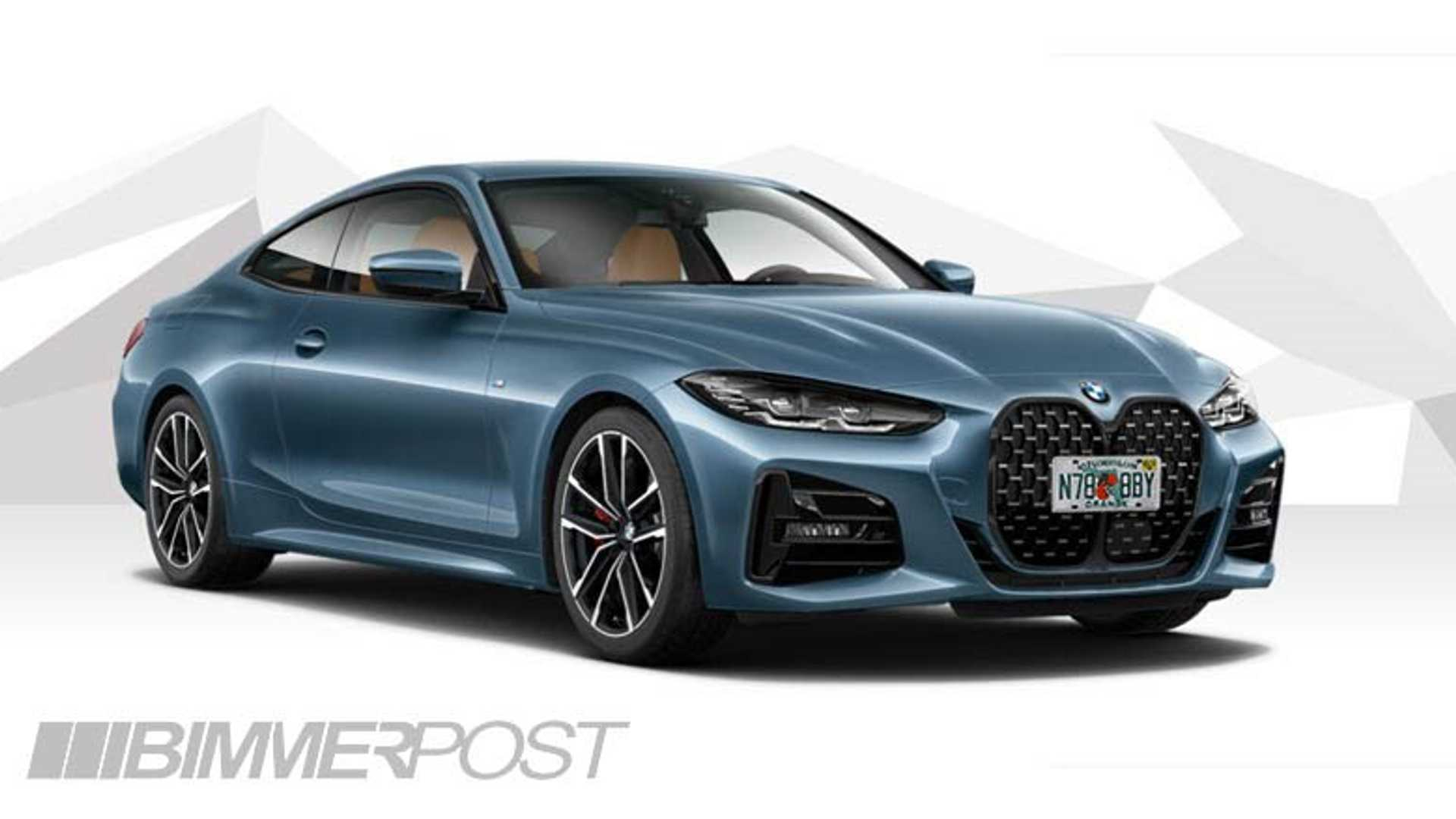 2021 Bmw 4 Series Coupe Without Front License Plate Better Or Worse
