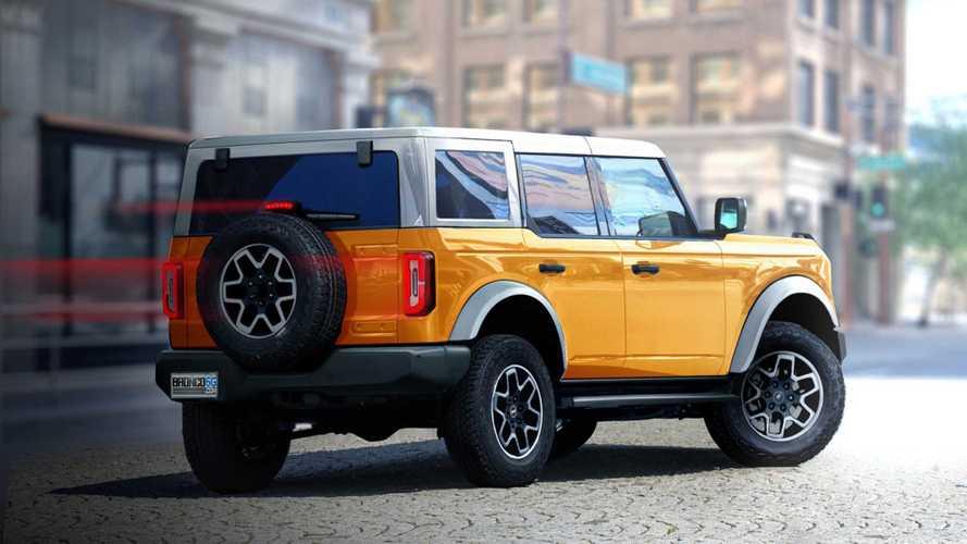 2020 Ford Bronco 4 Kapılı Versiyon Dijital Tasarımları (Render)