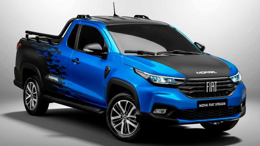 2021 Fiat Strada Already Available With Over 50 Mopar Accessories