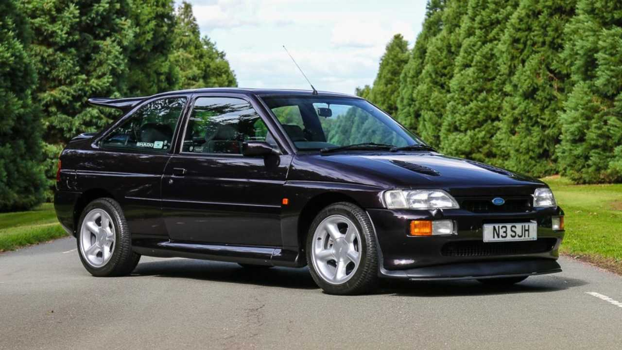 Classics for sale: Escort RS designer's own Escort RS available for auction!