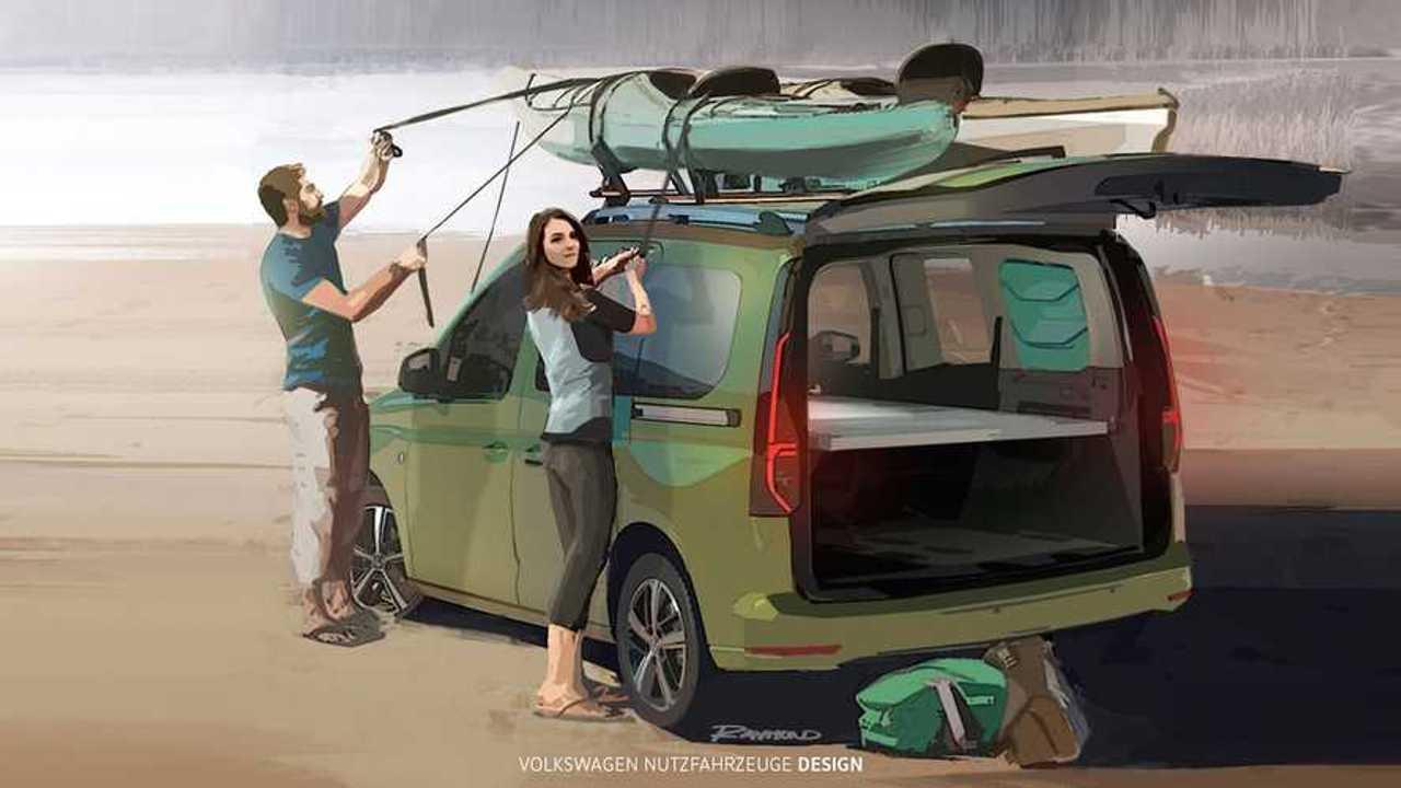 Volkswagen Caddy Beach 2020, teasers