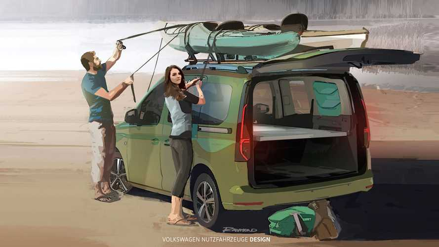 Volkswagen Caddy Beach (2020) Teaser