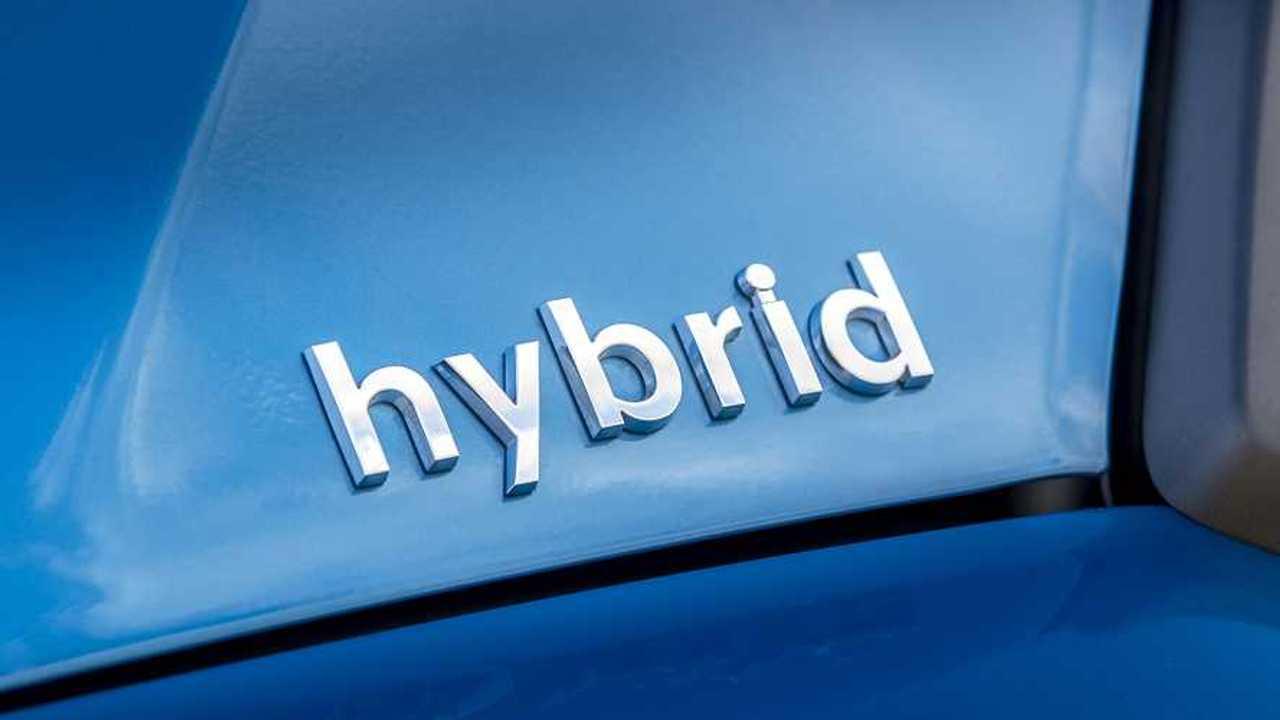 Logo auto ibride