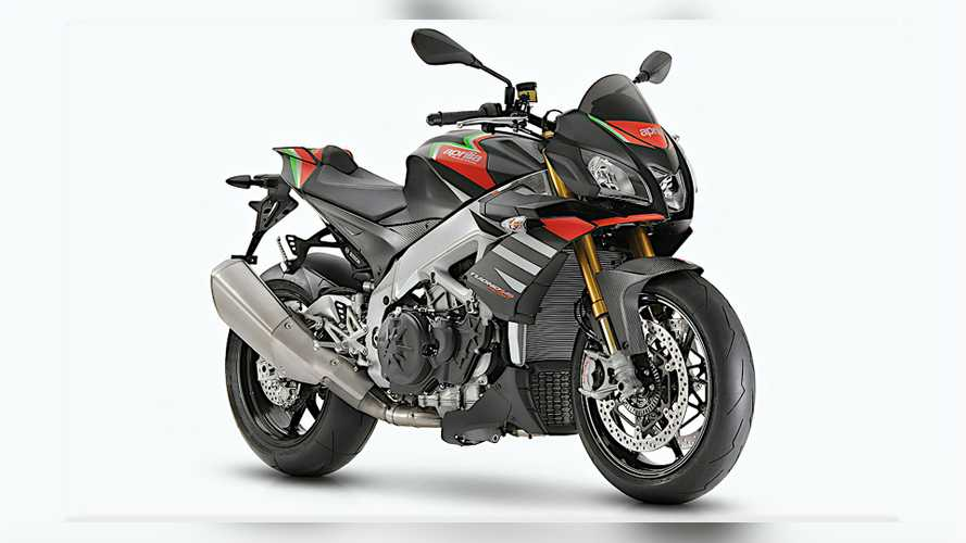 Is Aprilia Giving The Tuono 1100 V4 Wings For 2021?