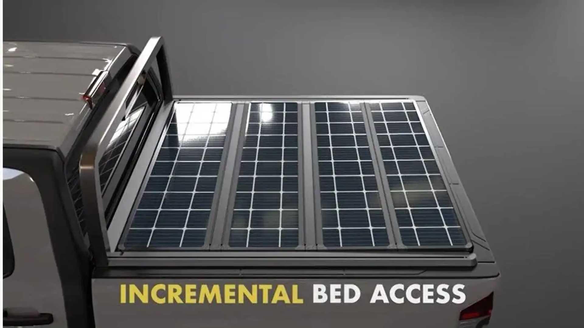 TerraVis truck solar panels panel