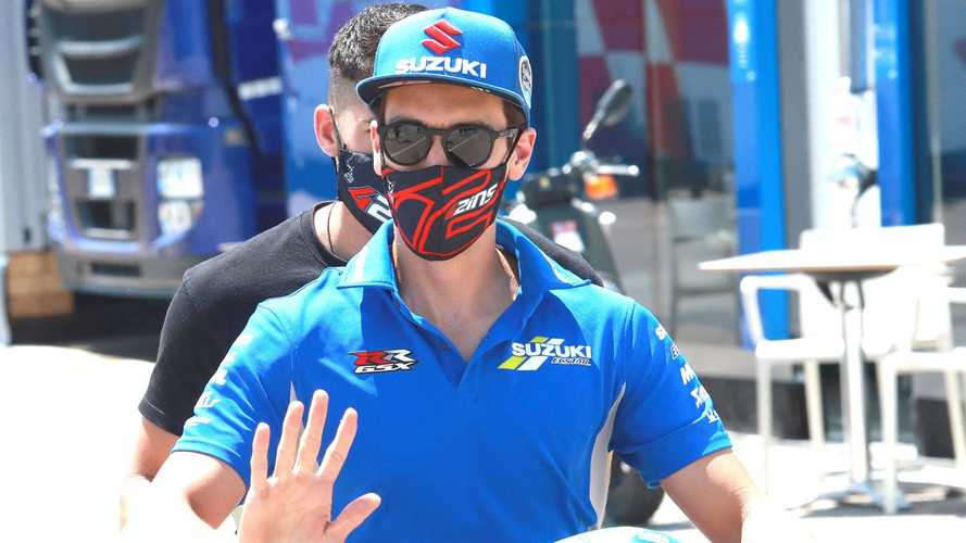 MotoGP, Rins supera la visita medica: è pronto per Jerez