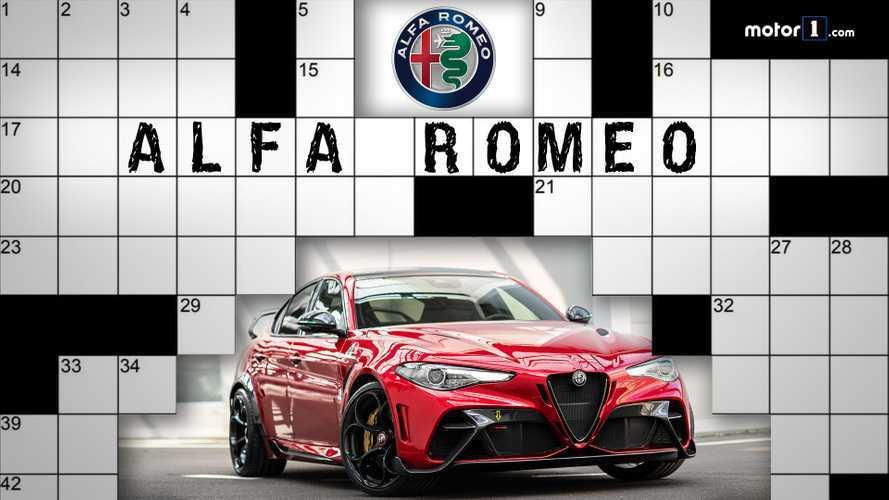 Quanto ne sapete di Alfa Romeo? Il cruciverba di Motor1.com