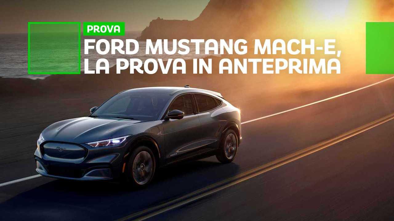Prova Mustang Mach-E