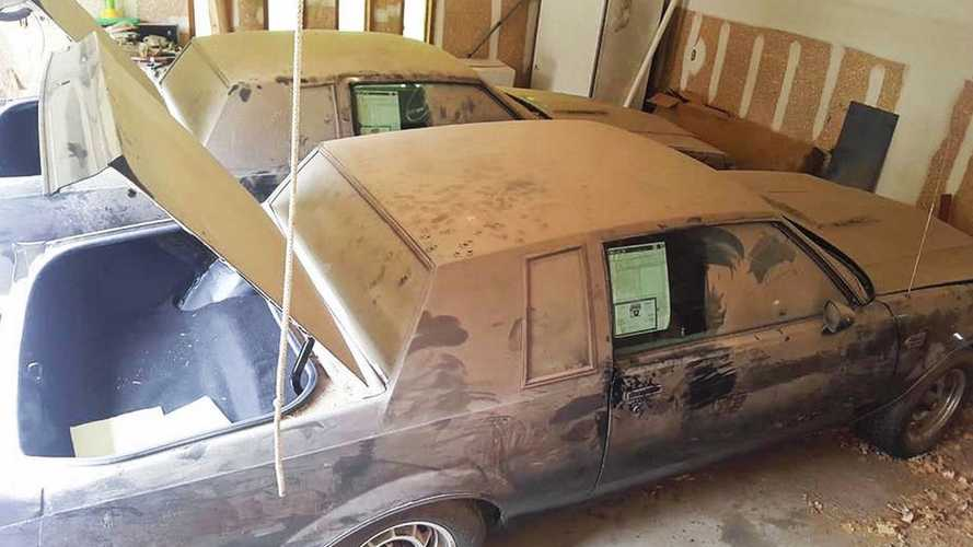 Pair Of 'New' 1987 Buick Grand Nationals Pulled From Garage After 30 Years