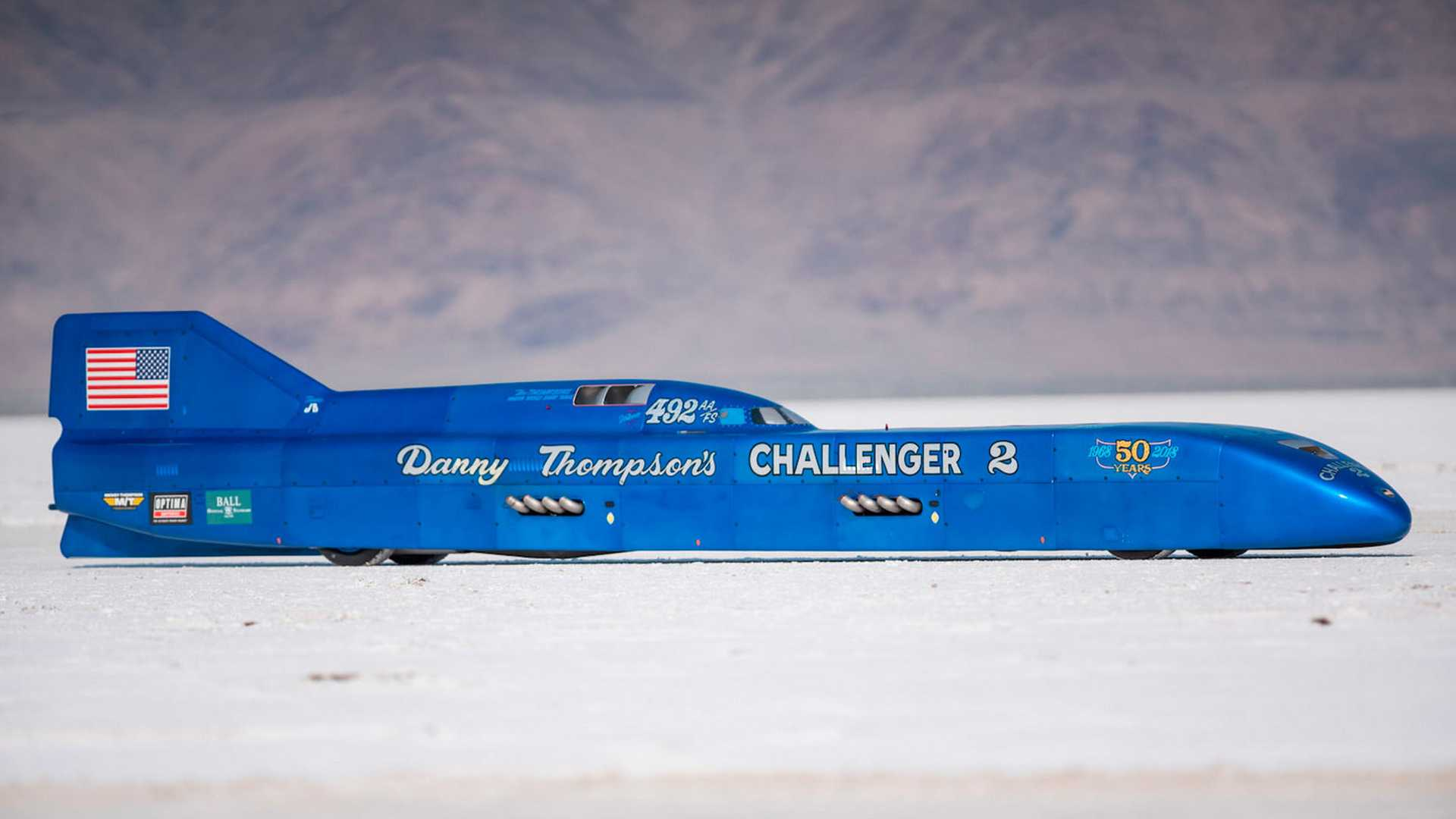 """[""""Own This Twin-Hemi Speed Record Holder""""]"""