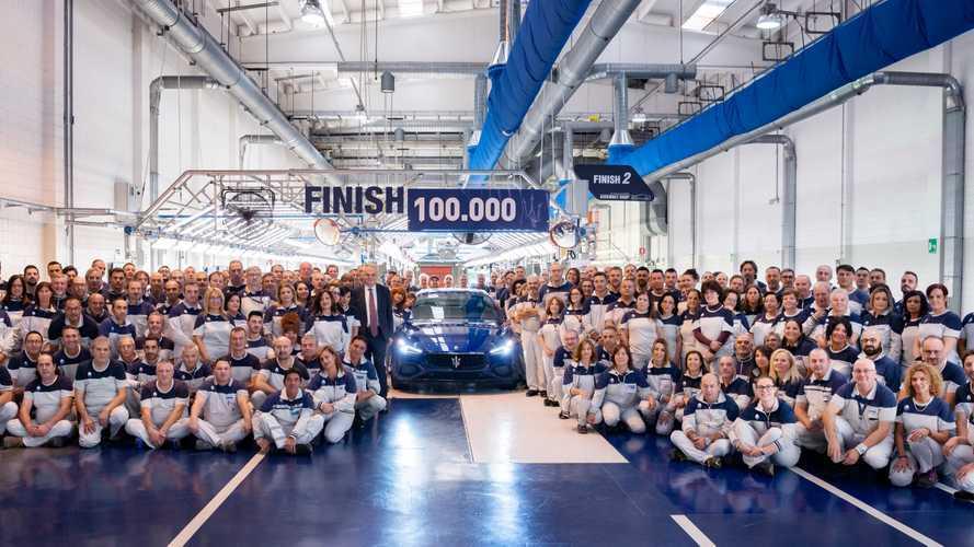 Maserati Ghibli, 100.000 esemplari prodotti