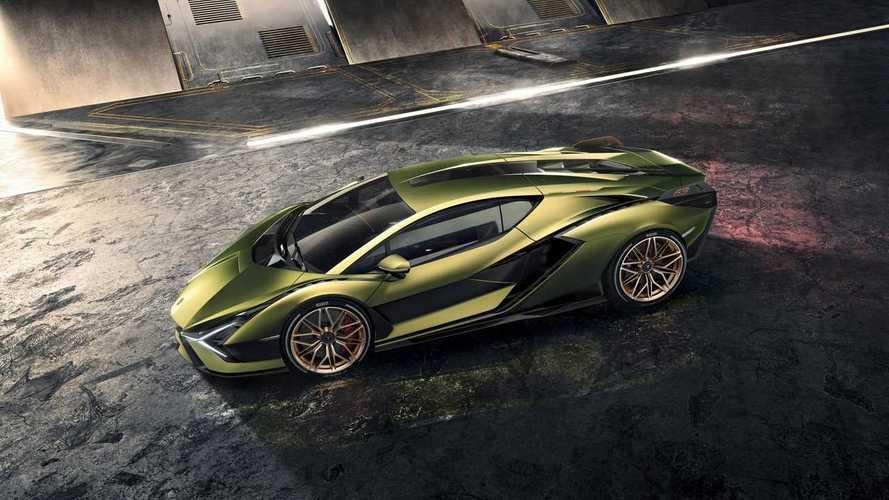 Lamborghini Sián - Avec un V12 hybride de 819 chevaux